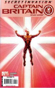 Captain Britain And MI13 #4 (2008) Secret Invasion Marvel comic book